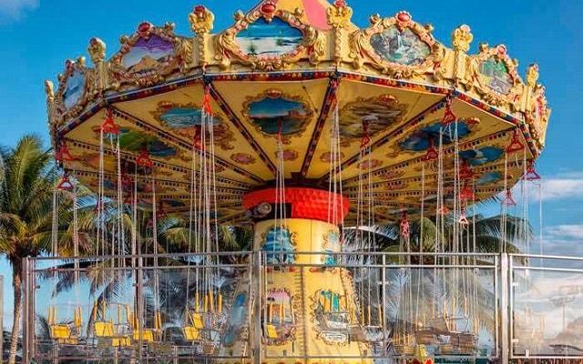 Ventura Park, Fun World cuenta con juegos de feria