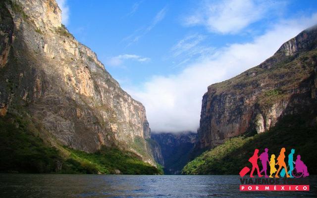 Conoce lugares increíbles como el Cañón del Sumidero en el Circuito Lagos y Cascadas