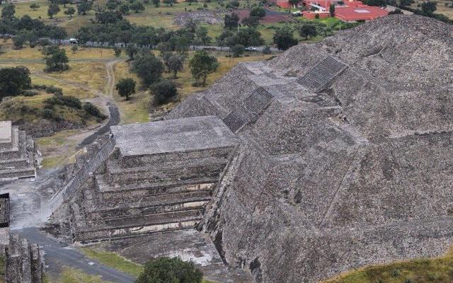 Vuelo en Globo en las Pirámides de Teotihuacán otro punto de vista de la zona arqueológica