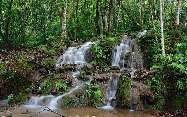 Zona Arqueológica de Toniná - Cascada el Corralito, admira la Cascada El Corralito